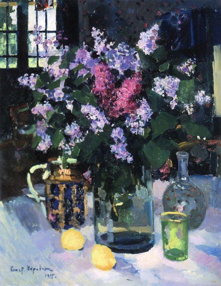 Lilacs, 1915 - Konstantin Korovin