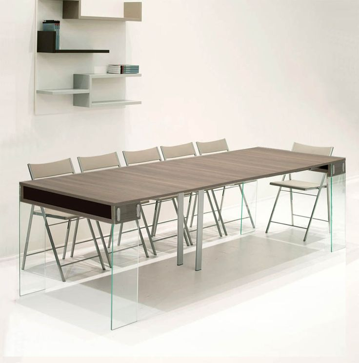 1000 images about console on pinterest canon elk and for Table console extensible en bois