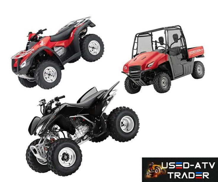 Honda is world's leading ATV manufacturer, http://www.used-atvtrader.com/used-atvs/honda/ here we represent various models of used atvs which available for sale by the american ATV dealers. You can get free price quotes for utility vehicles on Used-AtvTrader.Com