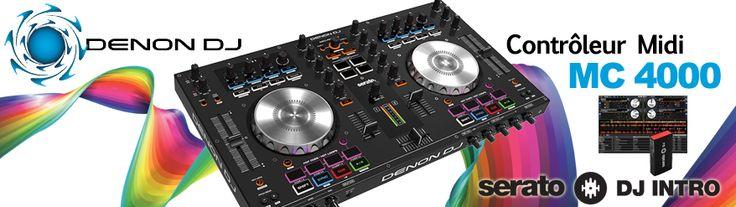 La MC4000 de chez Denon DJ avec Serato DJ inclu à 419 euros ....   http://www.dailymusic.fr/espace-dj/denon-mc4000-p-20249.html