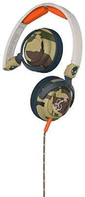 Skullcandy Lowrider Camo/Bone/Slate On-Ear Headphones