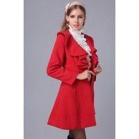 Palton Elegant Red