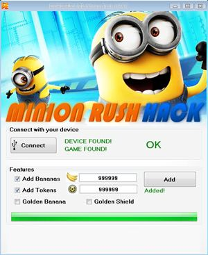 http://redappsworld.com/despicable-me-minion-rush-hack/  The Despicable Me Minion Rush Hack Tool  Features: http://redappsworld.com/despicable-me-minion-rush-hack/ Unlimited Tokens Unlimited Bananas Unlock all Items and Characters Unlock all Upgrades, all Levels and Golden Banana Works with PC, Mac OS, all mobile phones (Android, iOS, IPhone, IPad, iPod) Automatic check for new updates  Despicable Me Minion Rush Hack Tool http://redappsworld.com/despicable-me-minion-rush-hack/