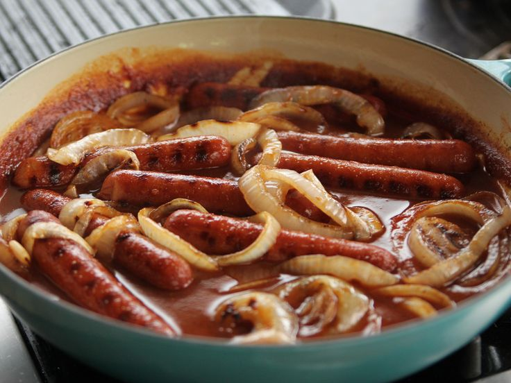Spicy Sausage Dogs recipe from Ree Drummond via Food Network