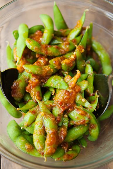 angry edamame recipe | use real butter