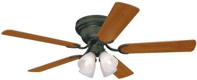 Contempra IV 52-Inch Reversible Five-Blade Indoor Ceiling Fan
