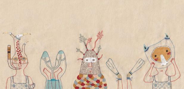 "Annalisa Bollini art embroideries ""qui a piqué le savon?"" New personal project"