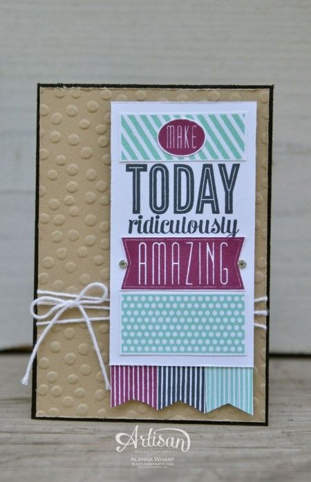 Convention Display Samples ~ Amazing Birthday ~ Sleepless Stamper