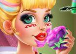 jeu audrey pom pom girl vrai maquillage gratuit sur jeu info