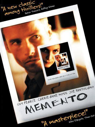 Memento (2000) - great movie about not remembering anything and working off clues and tattoos to solve his life  9