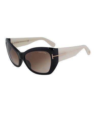This Black & White Corinne Sunglasses - Women is perfect! #zulilyfinds