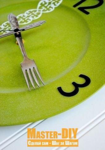 Кухонные часы из тарелки - Шаг 4.1