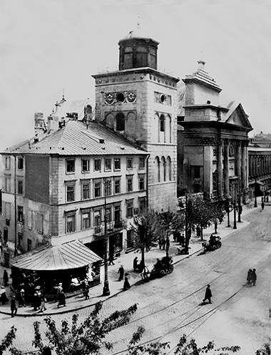 Warszawa Przedwojenna.Kościół Świętej Anny.