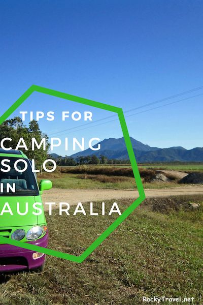 How is it like Camping on your own? These are my tips for camping solo in Australia.