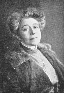 Ricarda Huch um 1914