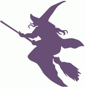 http://2014sports.net/witch-silhouette/  Several Witch Silhouettes