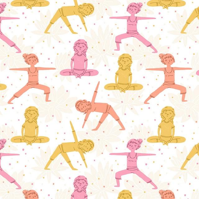 Daily Pattern - Yoga by Alyssa Nassner, via Flickr