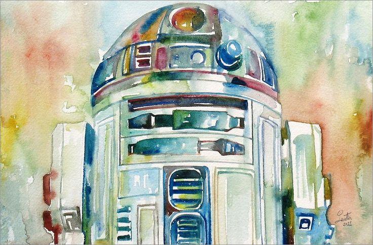 R2-D2 by Fabrizio Cassetta