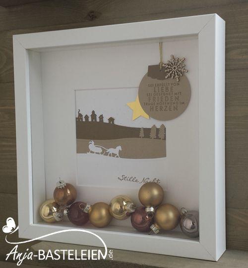 """Ich dachte mit meinen Weihnachtsbasteleien fertig zu sein. Tja, falsch gedacht! Dann ist mein Mann alleine zum Schweden gefahren. Zurück kam er mit einem Karton RIBBA-Rahmen. Grinsend..... Meine """"S..."""