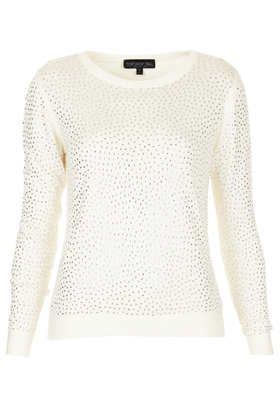 Tall Knitted Embellished Jumper