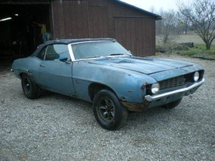 project camaros for sale 1969 camaro convertible project car for sale mtc pinterest. Black Bedroom Furniture Sets. Home Design Ideas