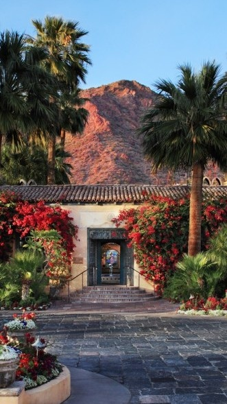 Admire the Old World Mediterranean splendor against the backdrop of Camelback Mountain | Royal Palm Resort & Spa in (Phoenix, Arizona) - Jetsetter