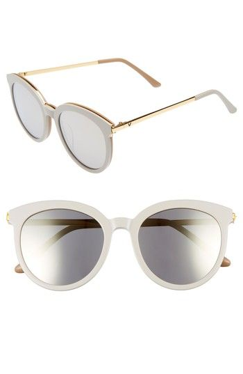 b7fce8489bc8 Gentle Monster Vanilla Road 54Mm Rounded Sunglasses