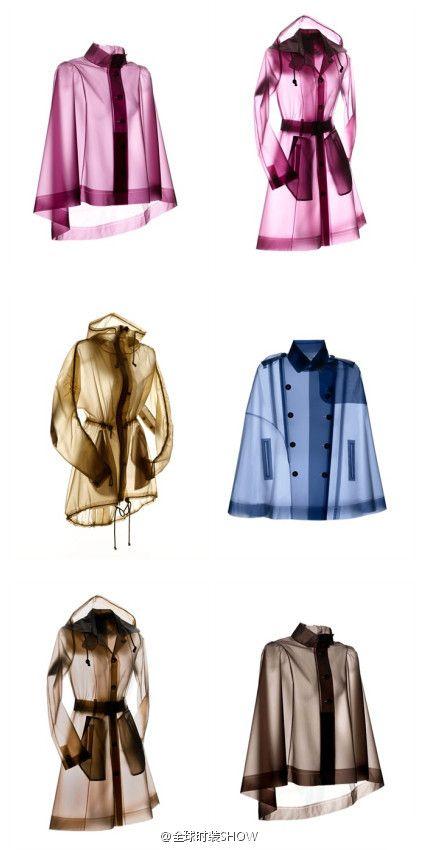 Terra New York Raincoat. So cool!