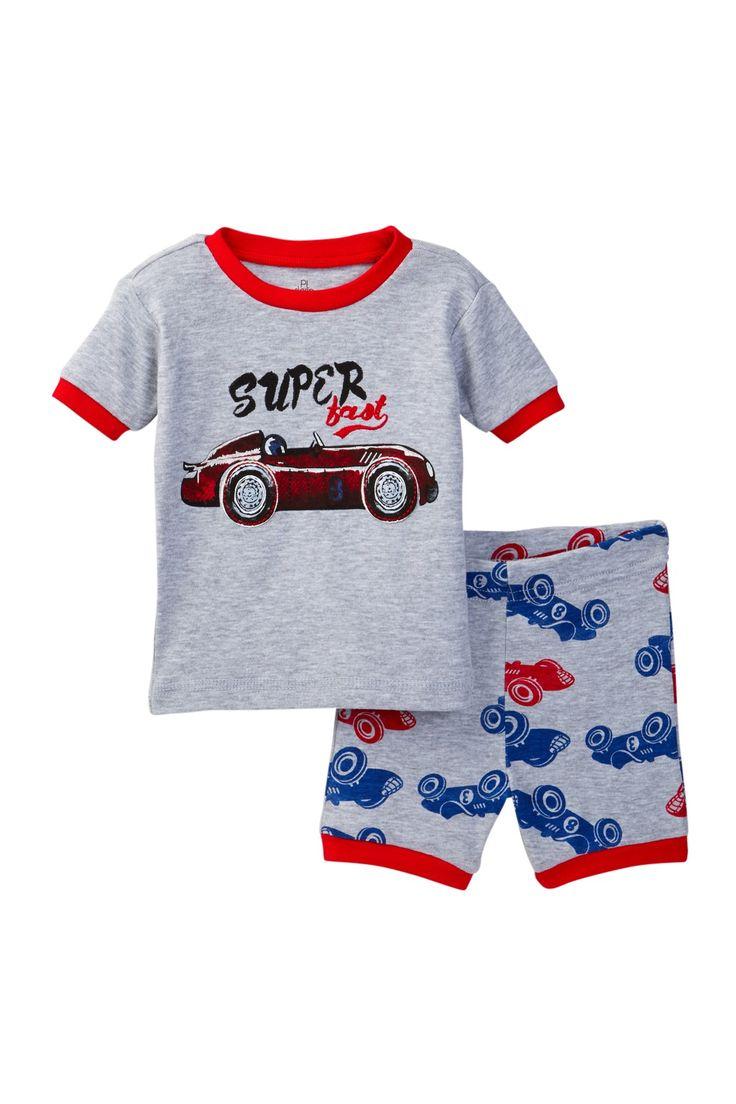 Super Fast Car Pajama (Baby Boys)