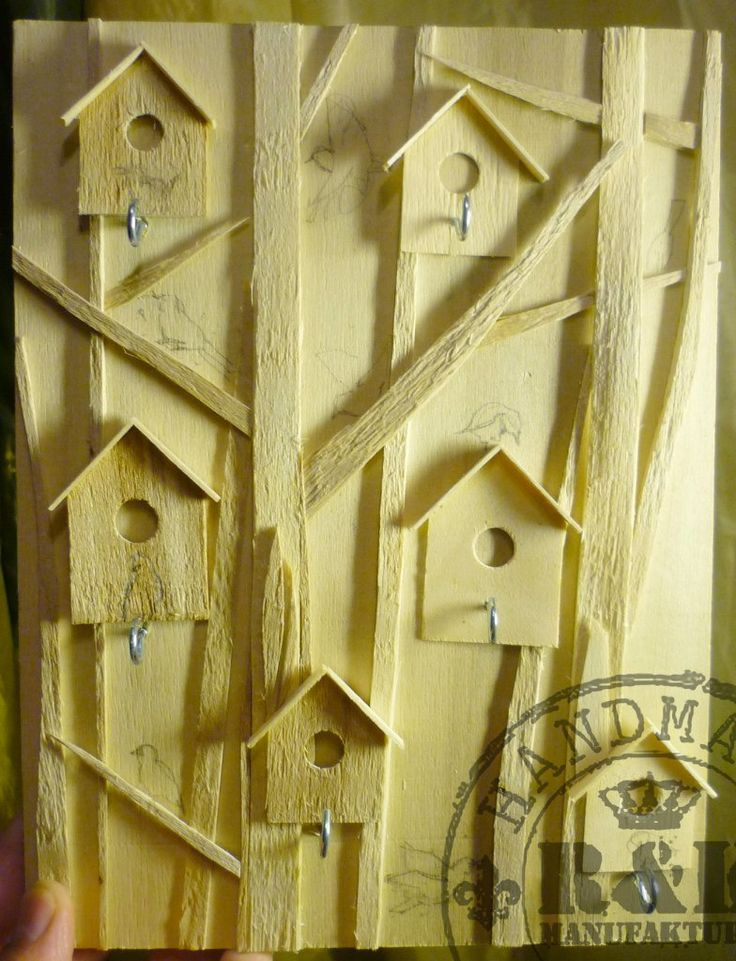 Изделия из дерева (ключница)