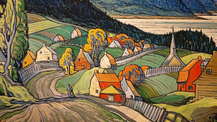https://flic.kr/p/FdzgFu | Détail de la toile Saint-Siméon (avant 1950) de Marc-Aurèle Fortin, Musée des Beaux-Arts de Montréal | Marc-Aurèle Fortin (1888 - 1970) est un peintre québécois. Son œuvre est entièrement consacrée au paysage (surtout rural), et démontre son goût pour la nature somptueuse et généreuse. « J'ai voulu créer une école du paysage canadien complètement détachée de l'école européenne. Il n'y a pas d'école typique canadienne où l'on ne sent aucune influence. J'ai été le…