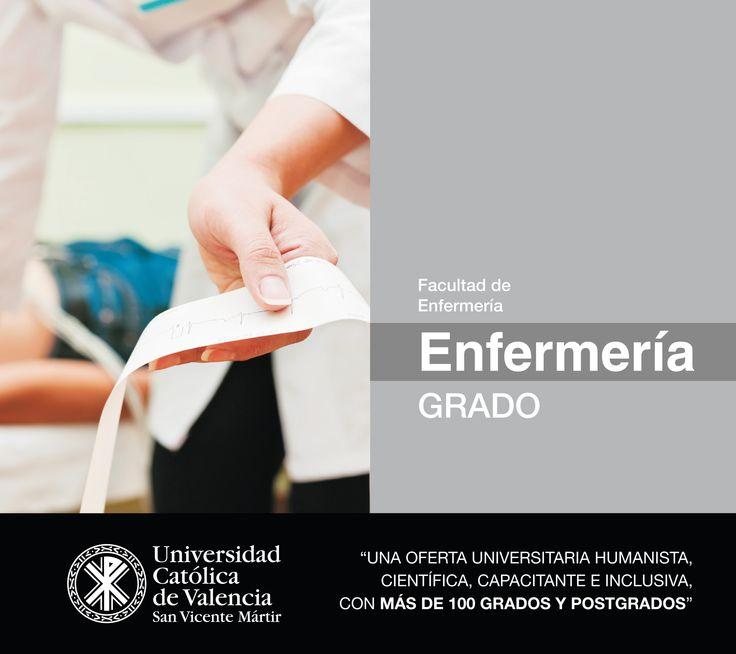 #Grado en #Enfermería de la #UCV #EmpleabilidadUCV #TuGradoUCV