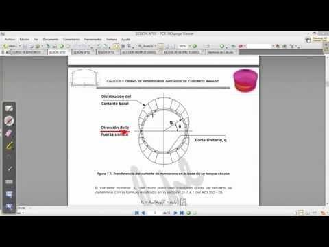 SESIÓN N°01 Compartida CURSO RESERVORIOS APOYADOS DE CONCRETO ARMADO CON SAP2000 - KAMINDOZ