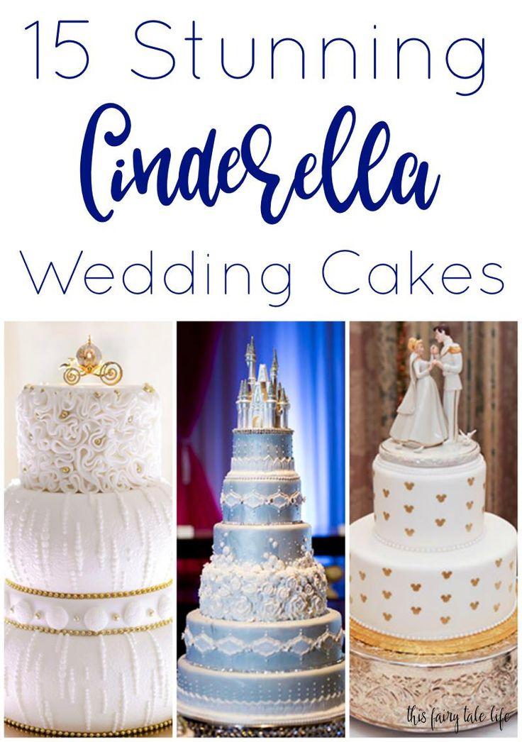 15 Perfect Cinderella Cakes for a Disney Wedding