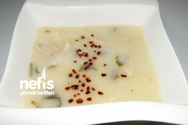 Terbiyeli Tavuklu Pirinç Çorbası Tarifi nasıl yapılır? 814 kişinin defterindeki bu tarifin resimli anlatımı ve deneyenlerin fotoğrafları burada. Yazar: Düriye Civak