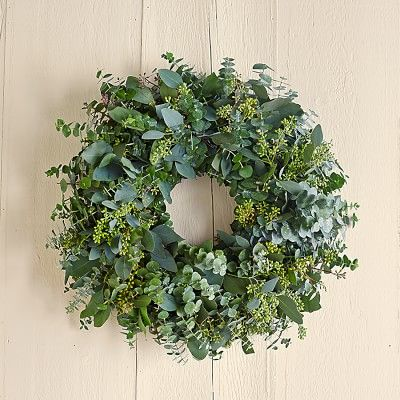 Eucalyptus Wreath #williamssonoma