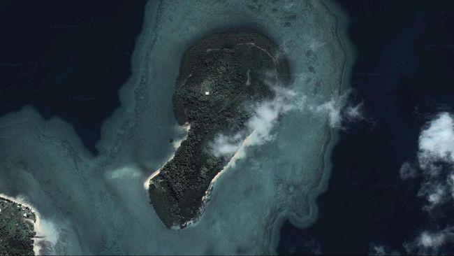 'Pulau Penis' di Fiji Dijual Seharga Rp 1,6 Miliar