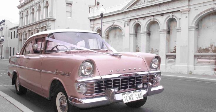 Vintage car - Old Holden EK 1961 and pink! ♥