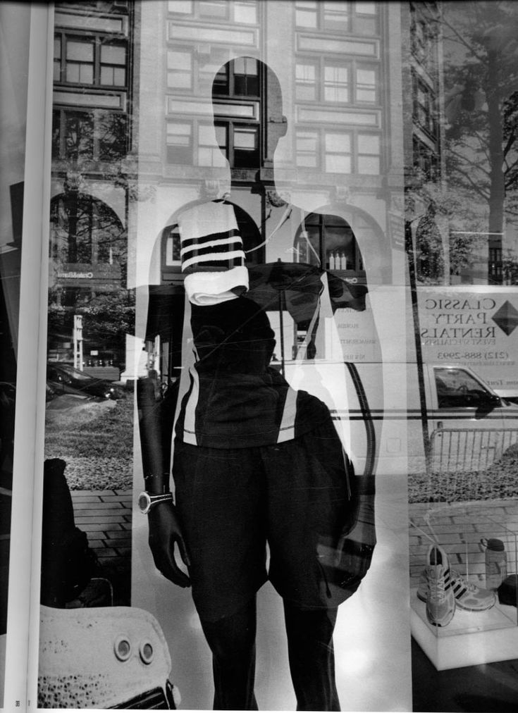 Lee Friedlander, Mannequin, New York 2008