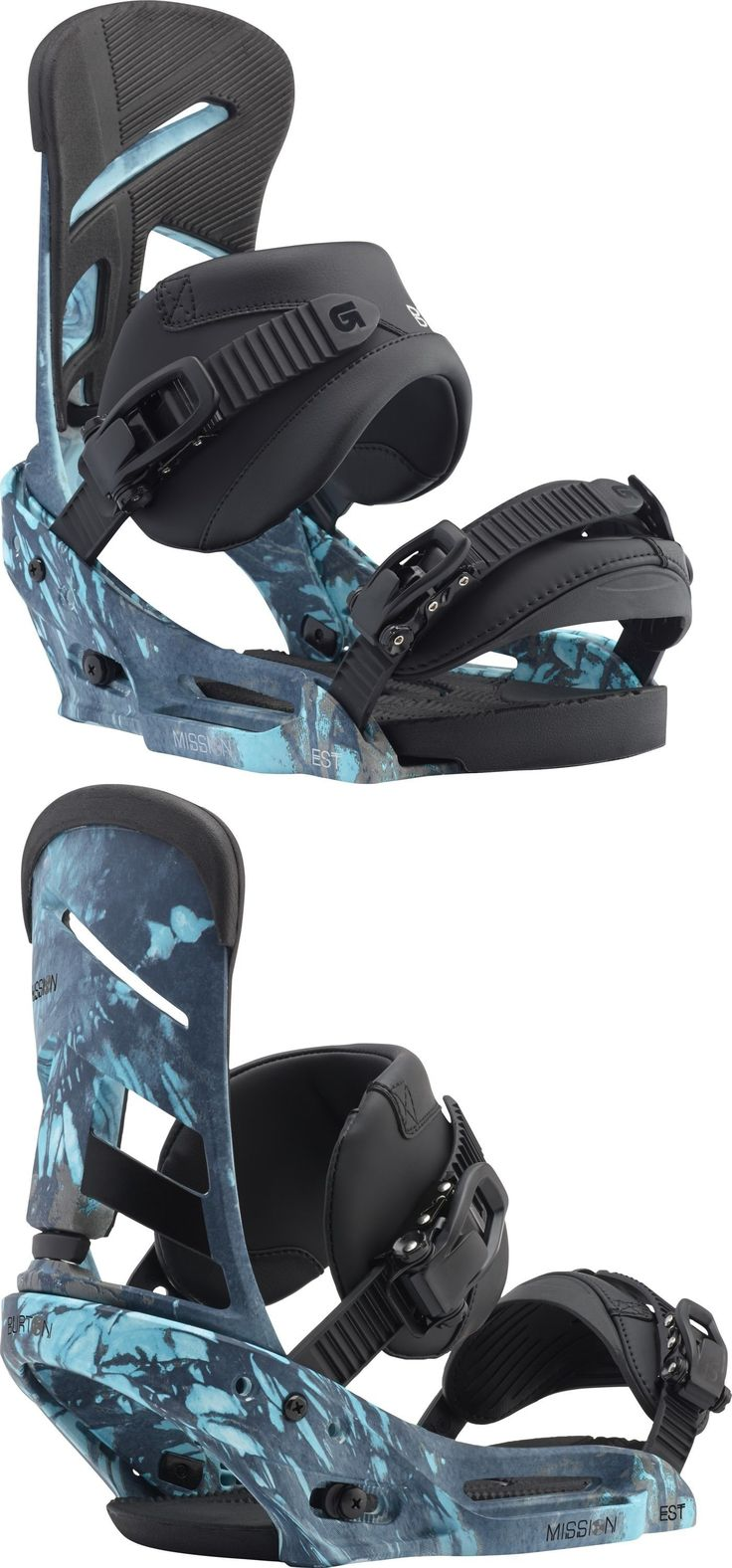 Bindings 21248: Burton - Mission Est | 2017 - Mens Snowboard Bindings - New | Blue Print -> BUY IT NOW ONLY: $174.95 on eBay!