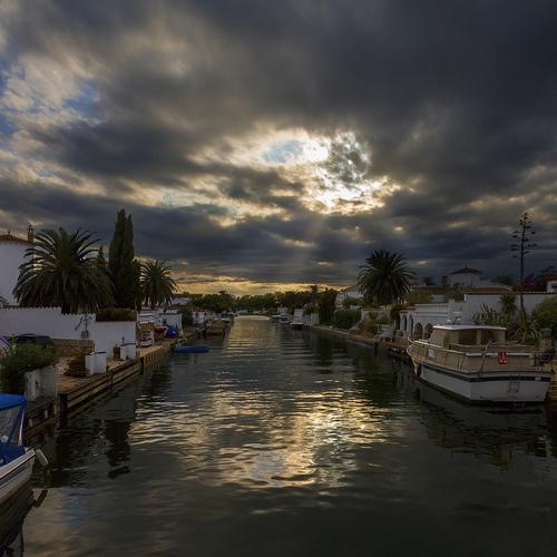 Empuriabrava, Spain (by Pilar Azaña). Popularly known as the little Venice of the Costa Brava.
