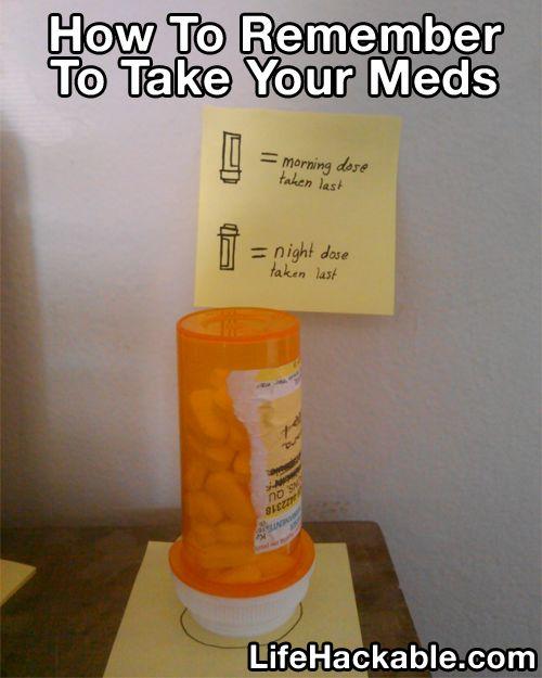 Did I take my meds hack