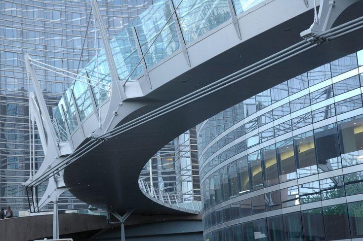 Dietmar Feichtinger Architectes - Project - Passerelle Valmy, La Défense