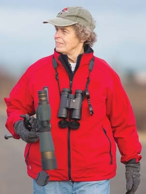 Jude Grass is the co-ordinator of the annual Ladner Christmas Bird Count.