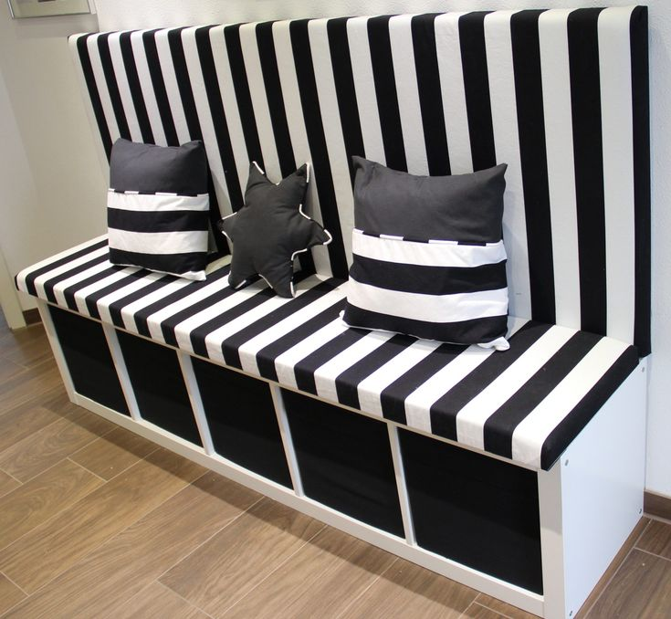 Kallax Ikea Hack als Bank