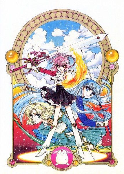 CLAMP, Magic Knight Rayearth, Shidou Hikaru, Ryuuzaki Umi