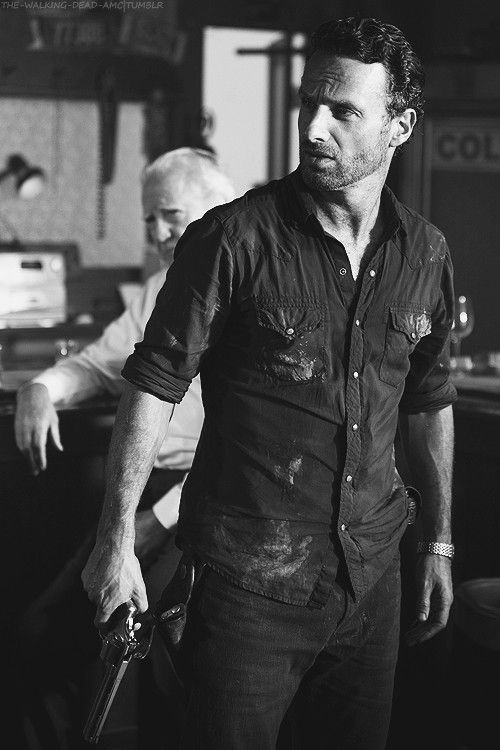 Rick Grimes from The Walking Dead....sick series!
