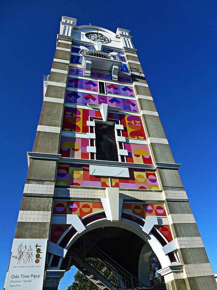 Photo of the Clock Tower, New Plymouth, Taranaki, New Zealand