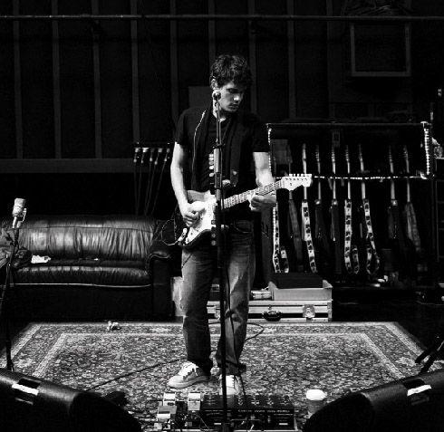 John Mayer - inspirational for a man's cave