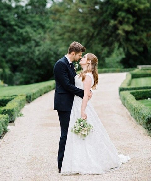 Tanya Burr's Wedding Dress Revealed, Tanya Burr And Jim Chapman Are Married